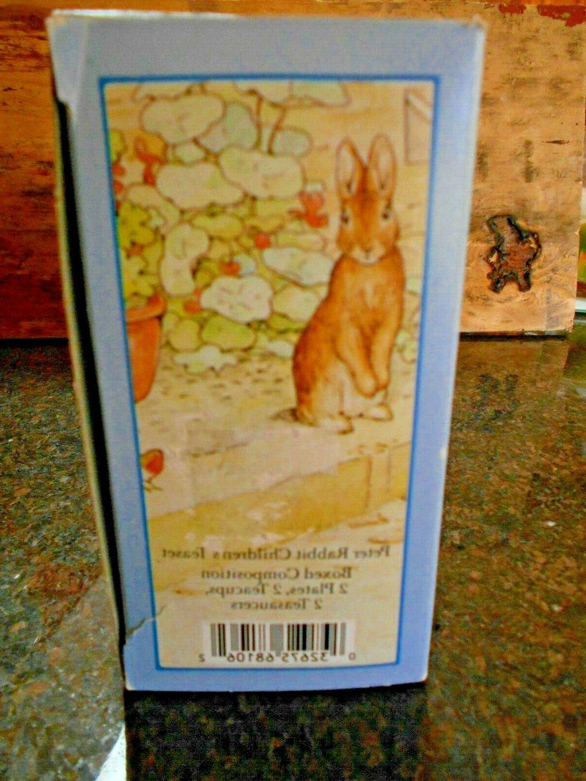 Peter Rabbit piece Set Wedgwood--Beatrix Potter teapot