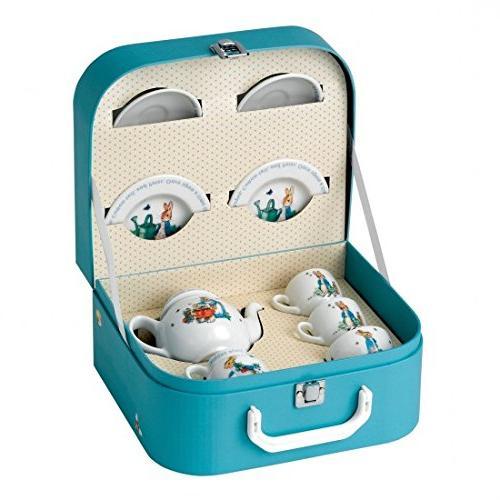 peter rabbit children tea set