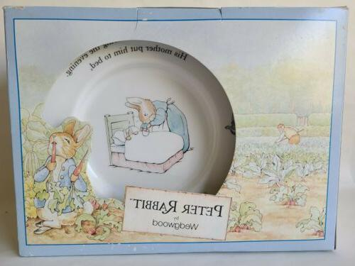 Wedgwood Rabbit Nursery Mug, Plate, pc in