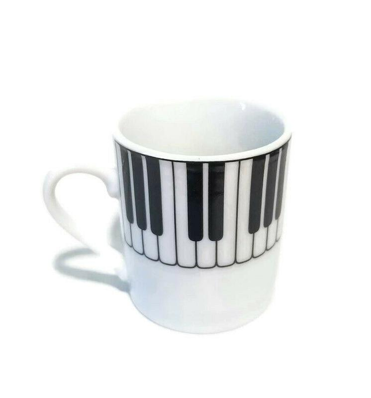 PIANO Cup saucer, set of 6, Gift