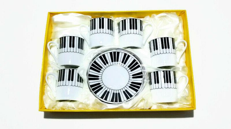 PIANO Small Cup & of 6, decorative and Gift