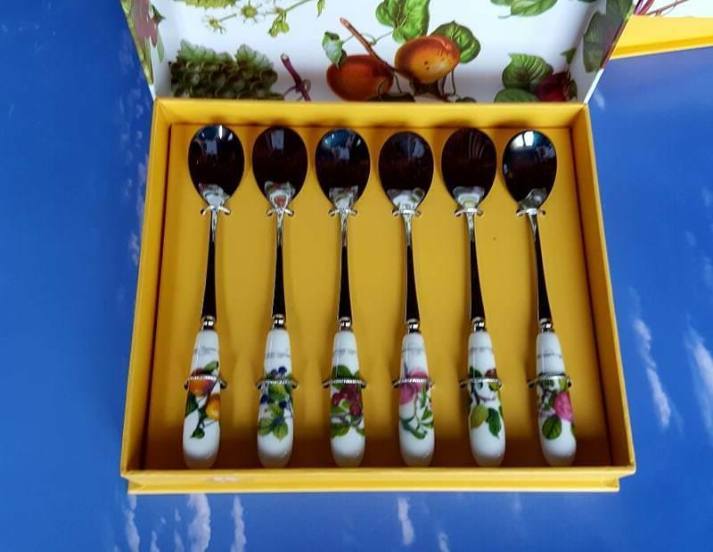 pomona set of 6 tea spoons
