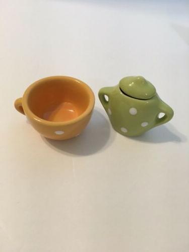 Lollipop Porcelain Tea Polka Dot
