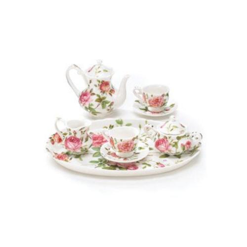 porcelain mini saddlebrooke tea set
