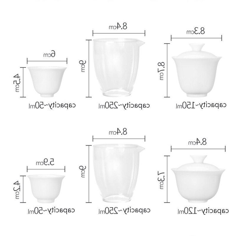 Cups Mug of Ceremony Teapot,<font><b>Chinese</b></font> Kung Fu <font><b>Tea</b></font> Ceramic Travel with