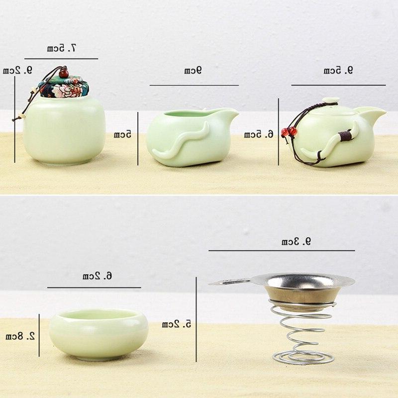 Portable Teaware Chinese Kung <font><b>Tea</b></font> <font><b>Set</b></font> Traveller Teaware With Teaset <font><b>Tea</b></font> <font><b>Tea</b></font>