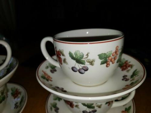 Wedgwood Provence Tea Cups