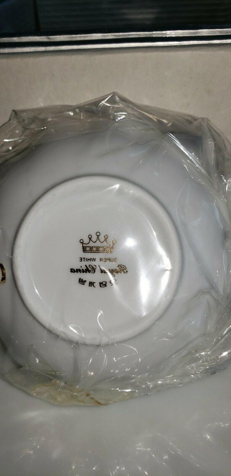 Royal Born Fine Bone China Set 6 6 Saucer