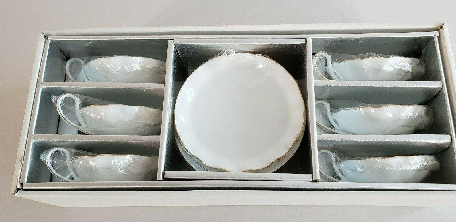 Royal China Cup Set 6 6 Saucer High