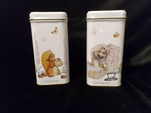 Set Potter Tea Tins, Each Bags, Afternoon & Earl