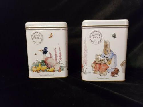 set 2 tea tins each 40 bags