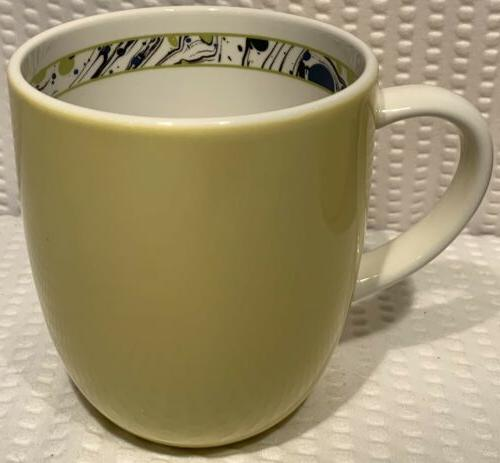 "Set ~ 4"" Novella Yellow Tea Cup"