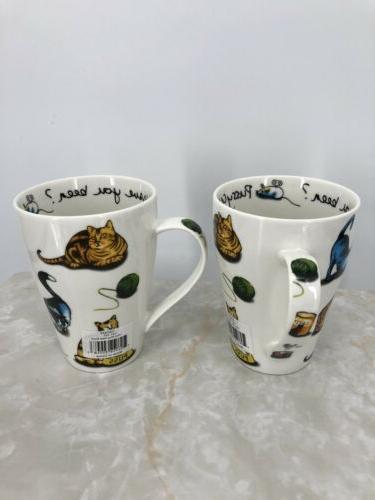 Set 2 Cardew Cat Tea China