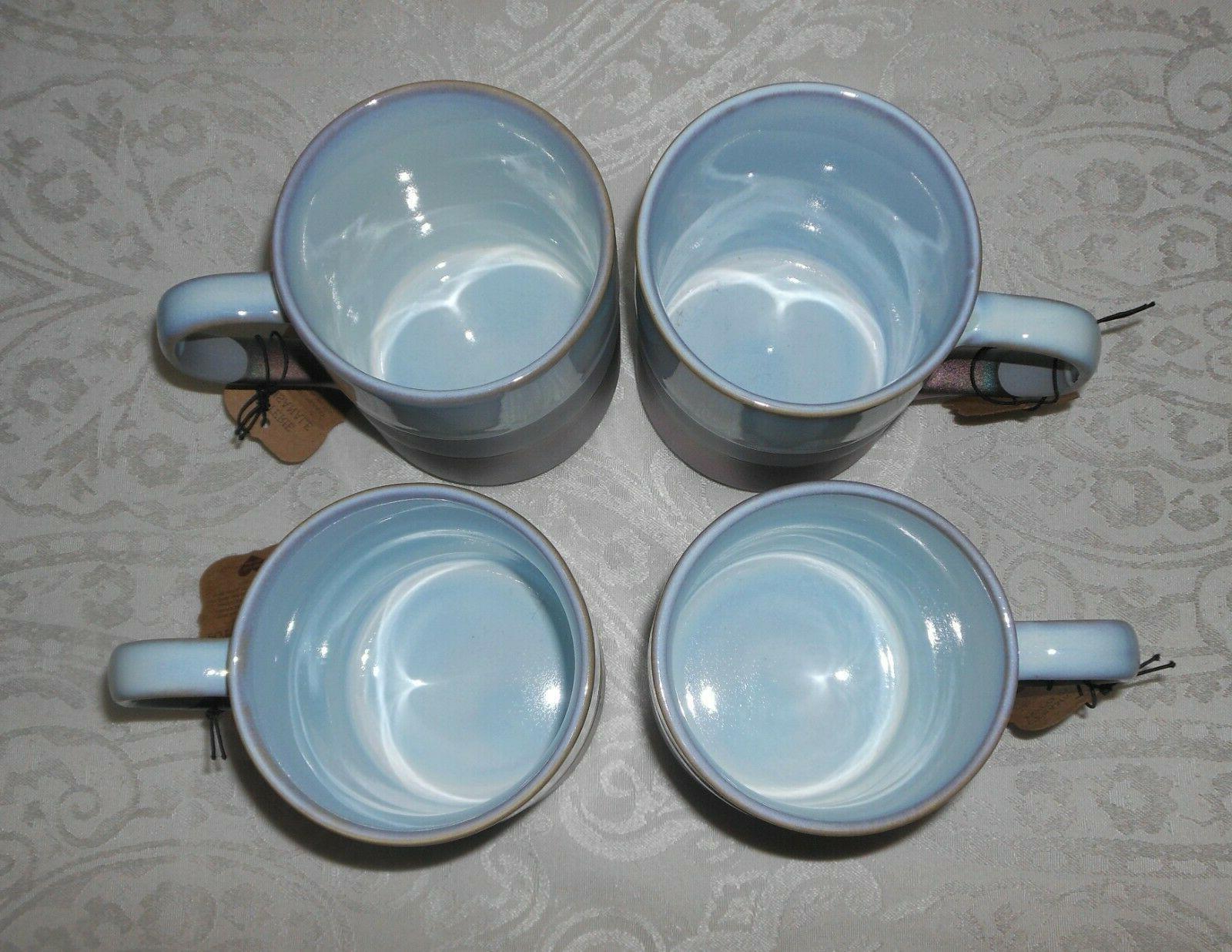 Set of Rochelle Stoneware Tea Coffee Mugs SHIPPING