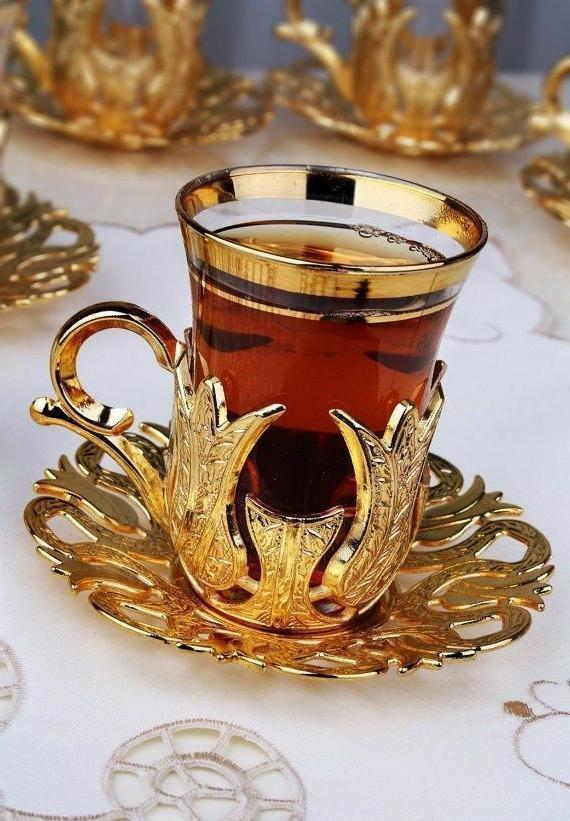 Turkish Glasses Serving Saucers