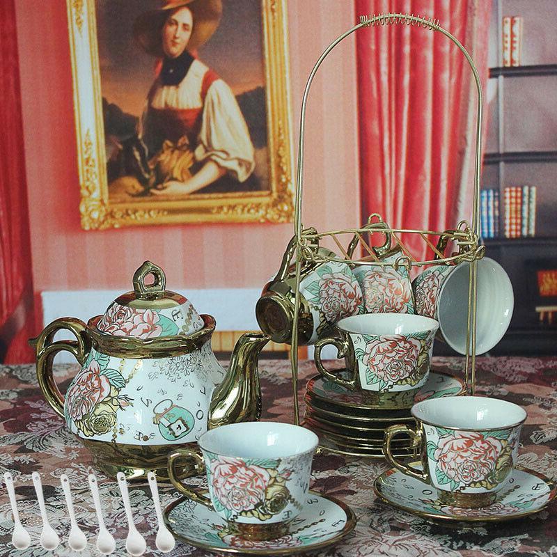 Set tea cup saucer saucers tea cup set