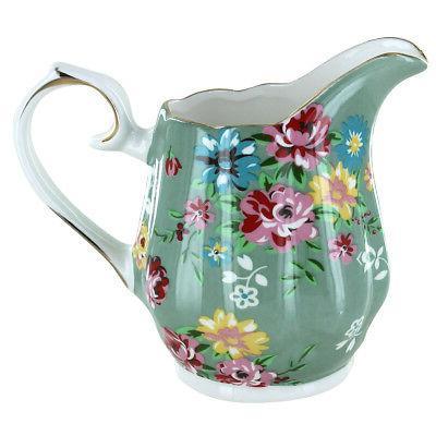 Shabby Green Tea Set