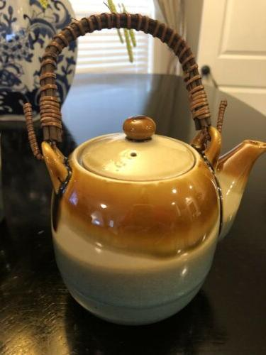 TEAVANA stoneware with and Infuser