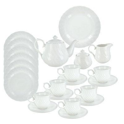 summertime deluxe porcelain tea set