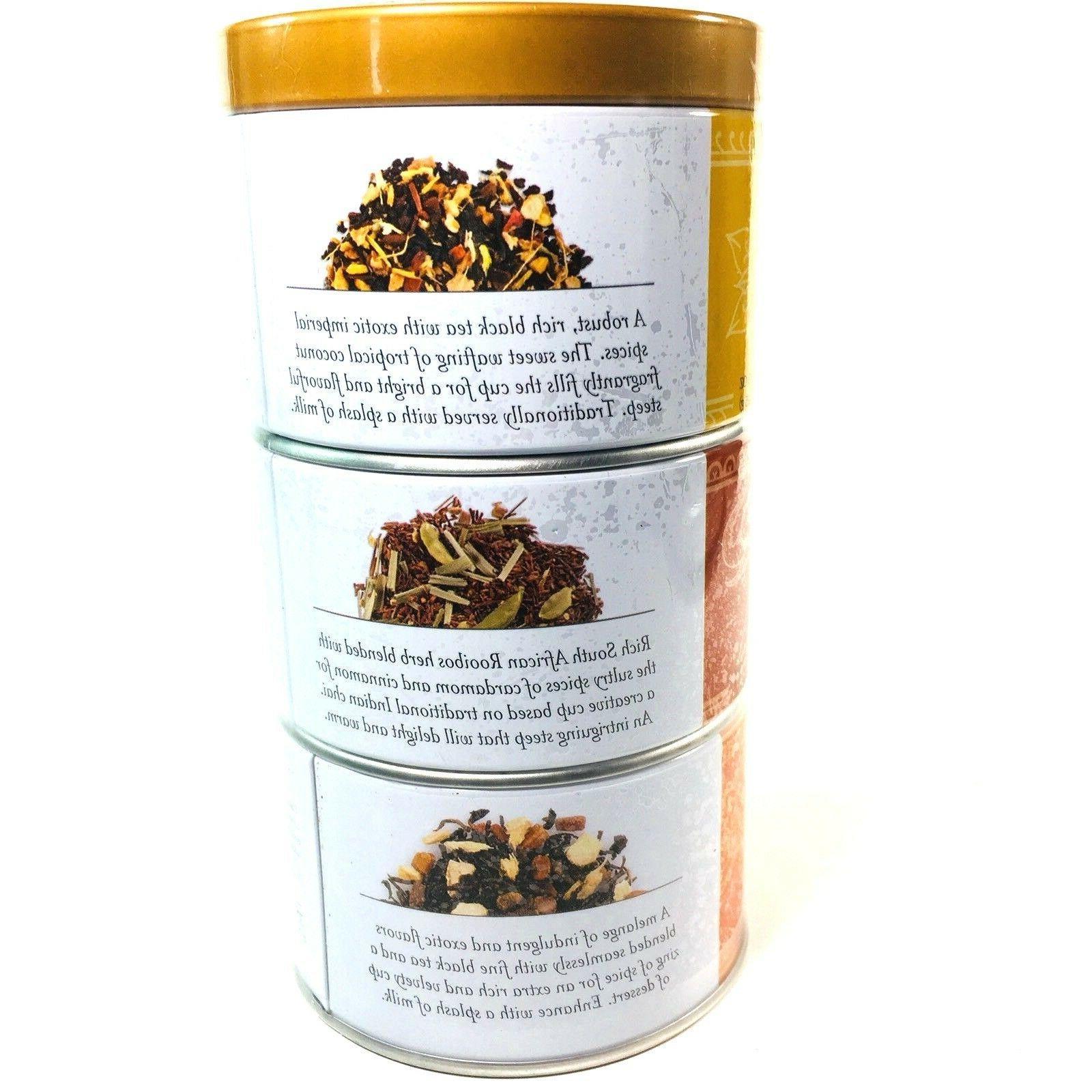 Tea Forte Chai Sampler Set Of