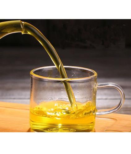 Tea Cup of 4 Glass Teacups Heat