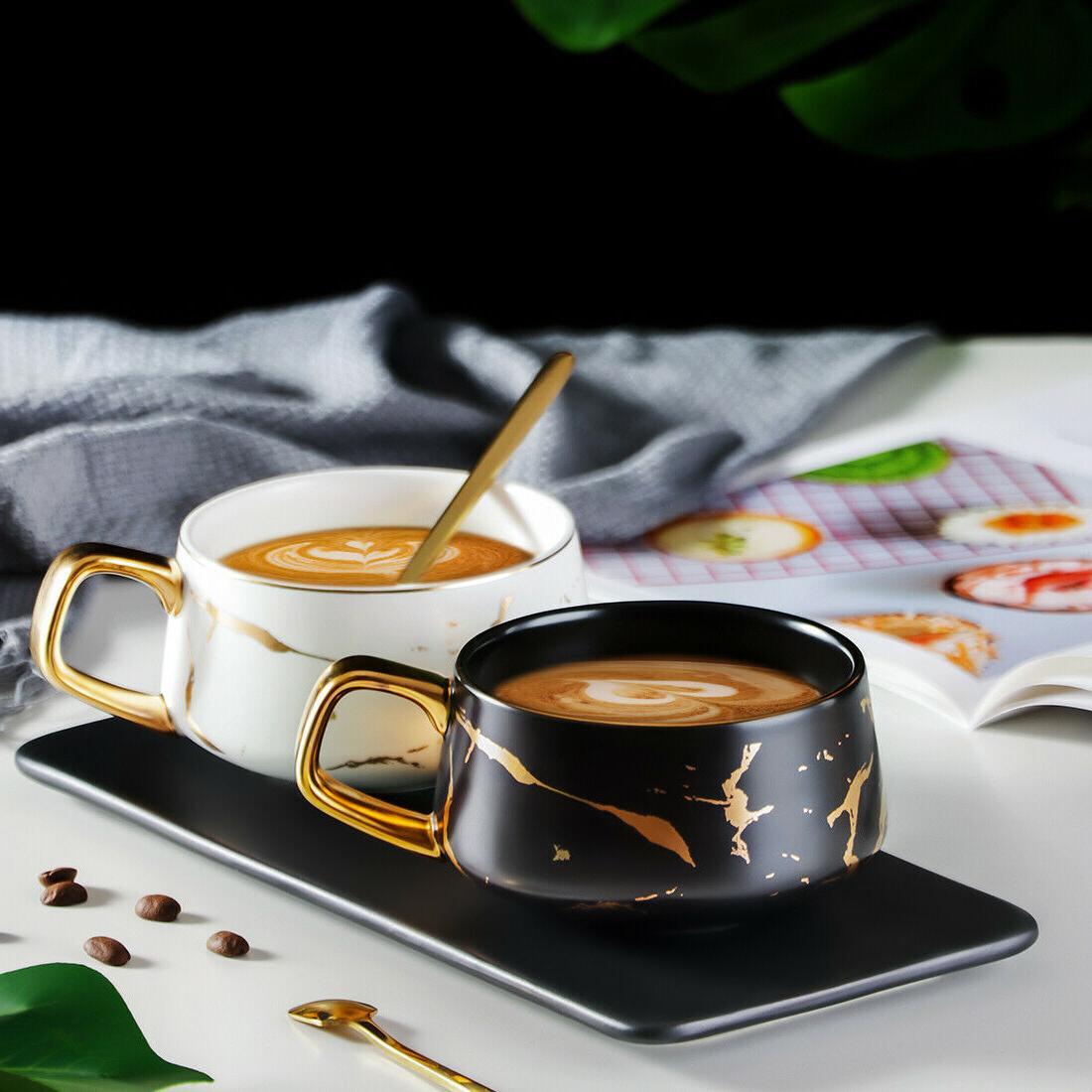 Tilany Tea Cup Wooden Set - - oz