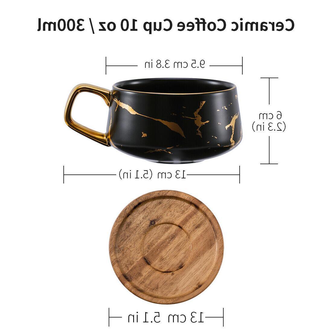 Tilany Cup Wooden - Coffee Mug, oz