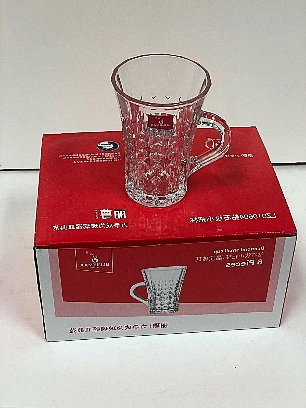 Turkish Cups Set of 6 Clear /Tea-Matte ...!