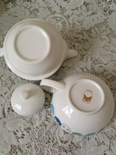 TEA FOR Stackable Teapot ~Cats