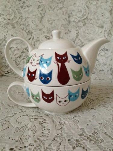 TEA Teapot Cup Set