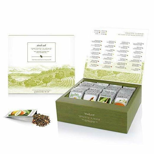 tea forte single steeps loose tea sampler