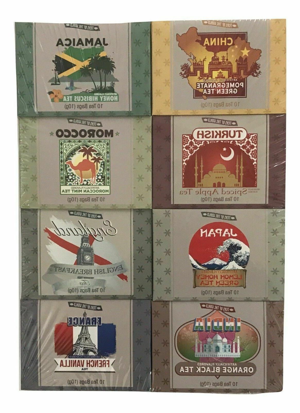 Teas The Tea 80 Gift Set Sampler Total, Flavors