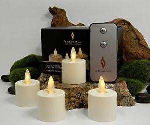 Luminara Tea Lights Set of 6 with 5 Hours Timer Ivory