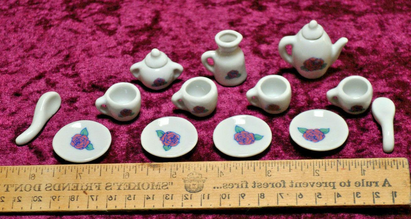 Tea Little Girls Ceramic Hobby