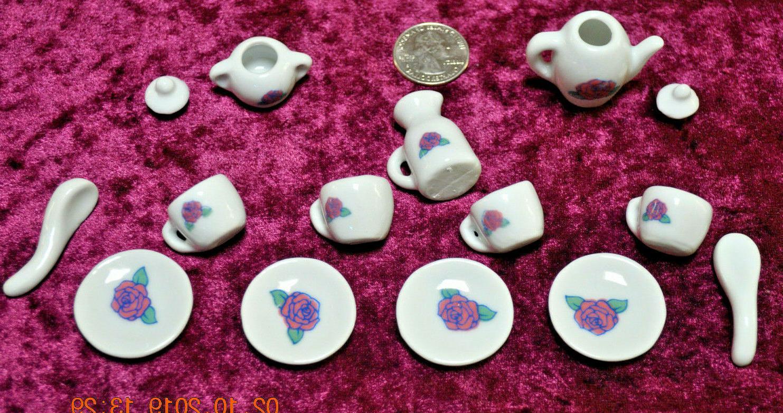 Tea Set pc Little Ceramic Hobby