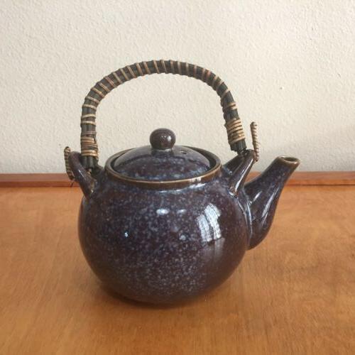 Teavana Set Teavana Stoneware Set - Blue Teacup Set