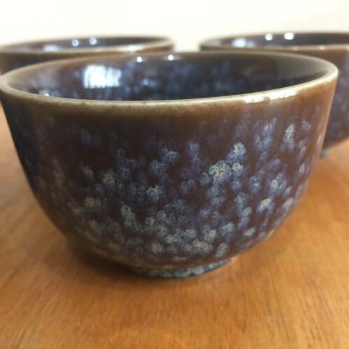 Teavana Tea Stoneware Tea Set - Blue Teapot And Set