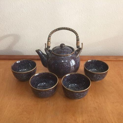 Teavana Tea Set Teavana Blue Set