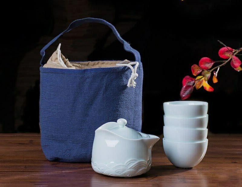tea set storage bags tea cozies storage