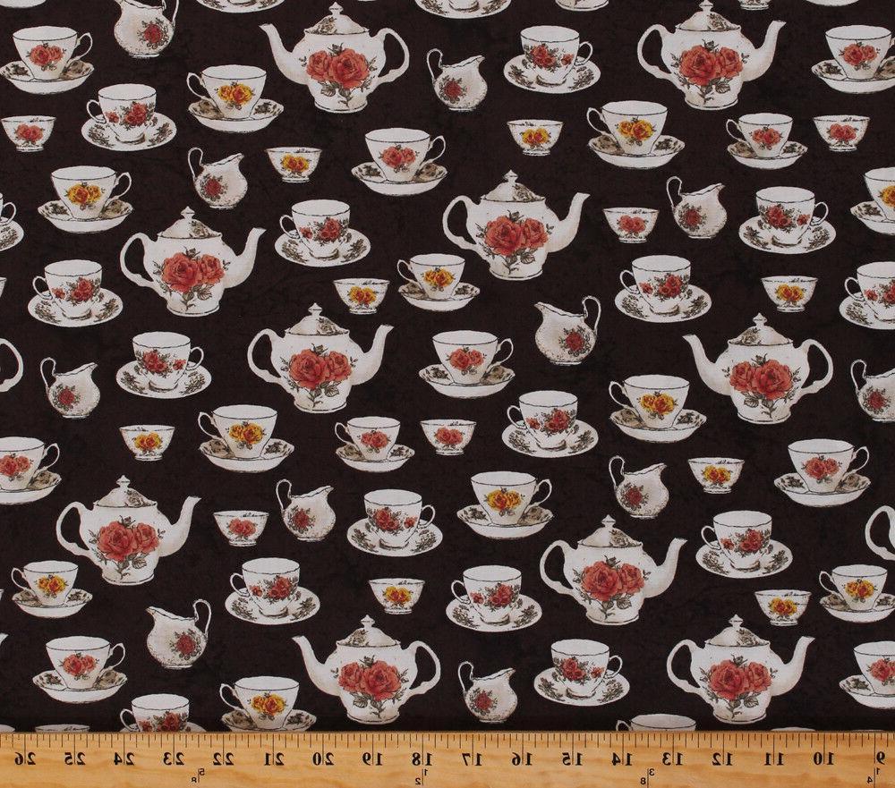 teacups teapots rose tea set afternoon tea