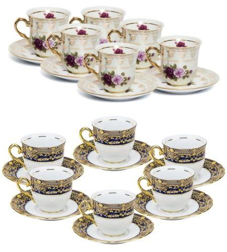 thun porcelain 12pc espresso tea coffee set