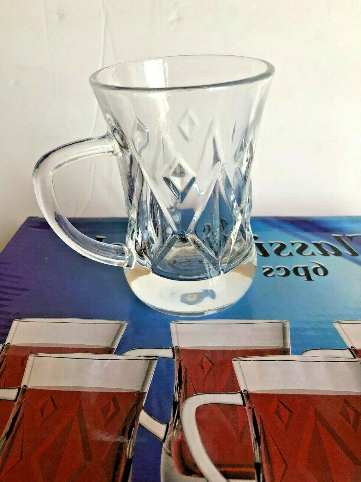 Turkish Tea glass /Tea Cups of 6 ...