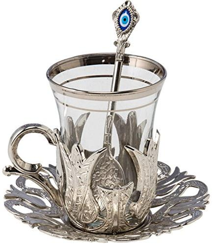 turkish tea glasses set