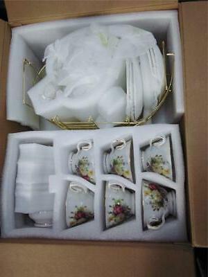 ufengke 15 piece european ceramic tea sets