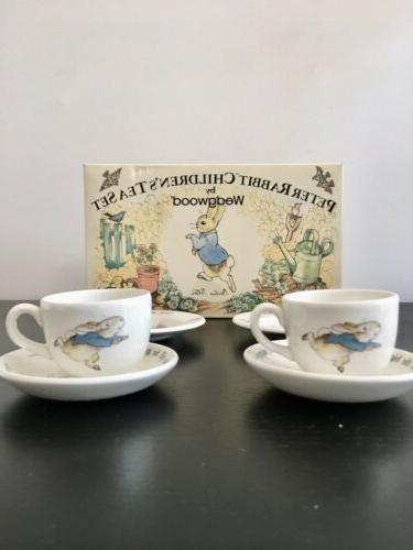 Vintage BEATRIX POTTER Rabbit Tea Wedgwood