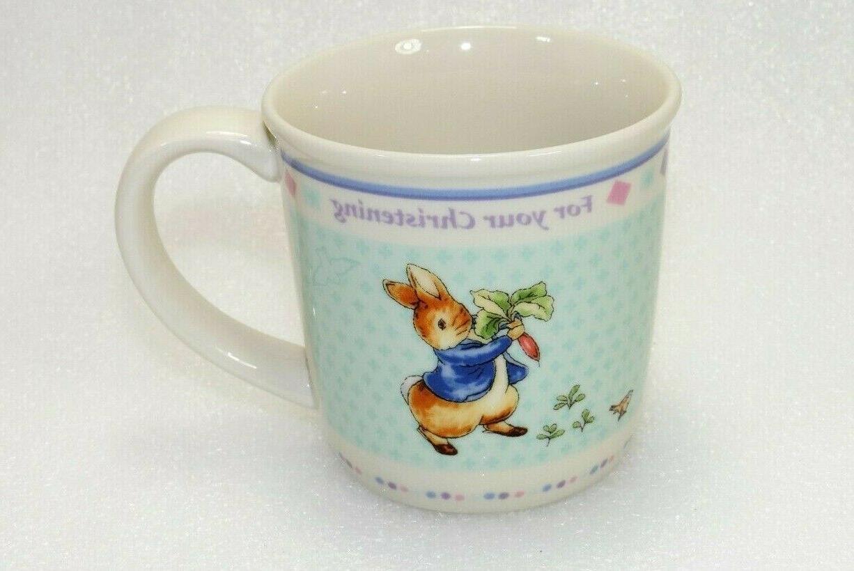 vintage peter rabbit baby mug cup