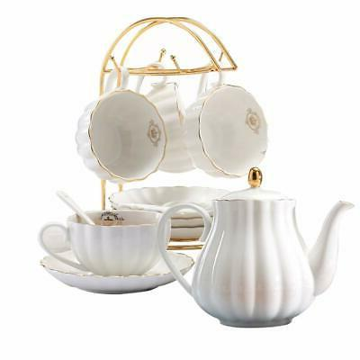 Vintage Tea Tea Coffee Saucers Premium Gifts, White