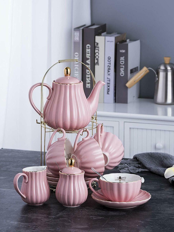Vintage Tea Tea Set 17 Pc Quality