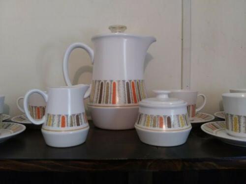 Vtg Gras Tea Set Coffee Pot Cream Sugar