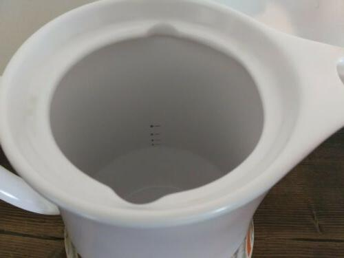Vtg Gras Percolator Set Coffee Pot Cream Sugar
